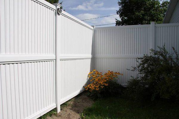 Clôtures Orford - PVC Intimité